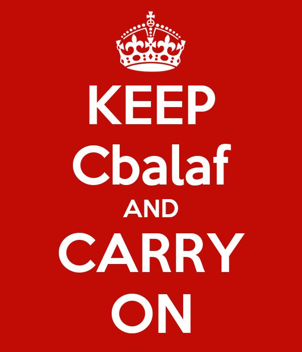 KEEP Cbalaf AND CARRY ON