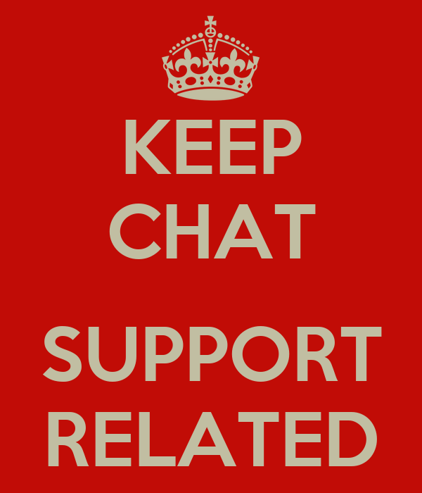 KEEP CHAT  SUPPORT RELATED