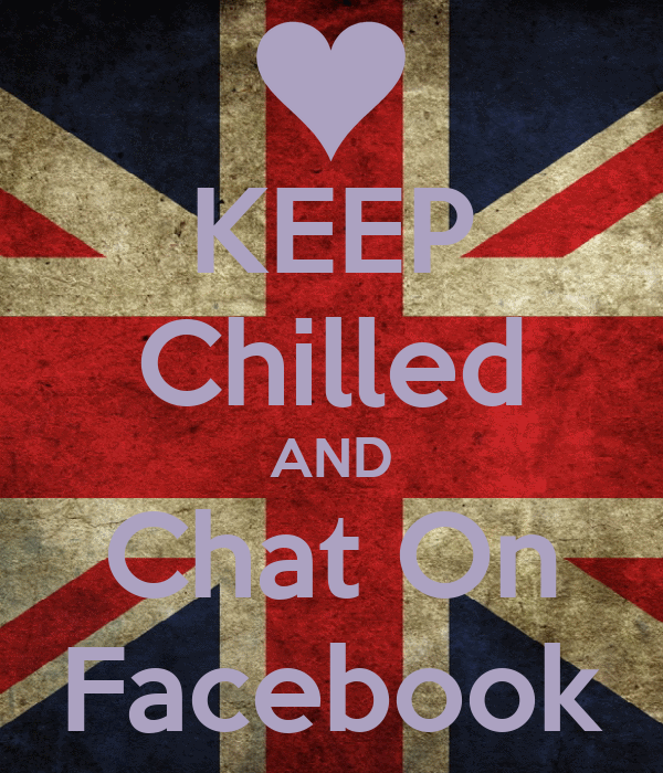 KEEP Chilled AND Chat On Facebook