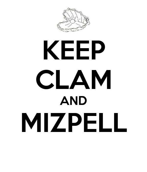 KEEP CLAM AND MIZPELL
