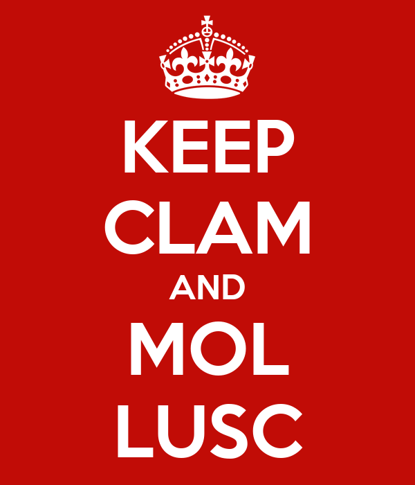KEEP CLAM AND MOL LUSC