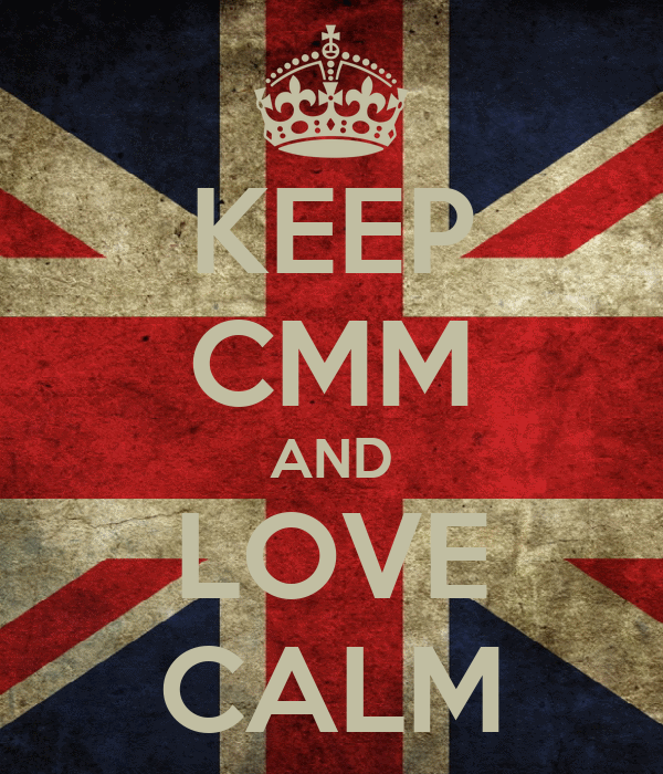 KEEP CMM AND LOVE CALM