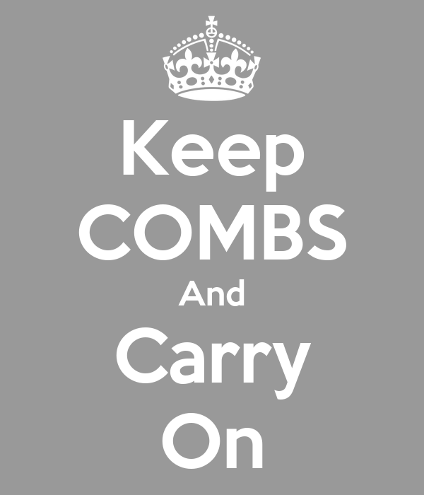 Keep COMBS And Carry On