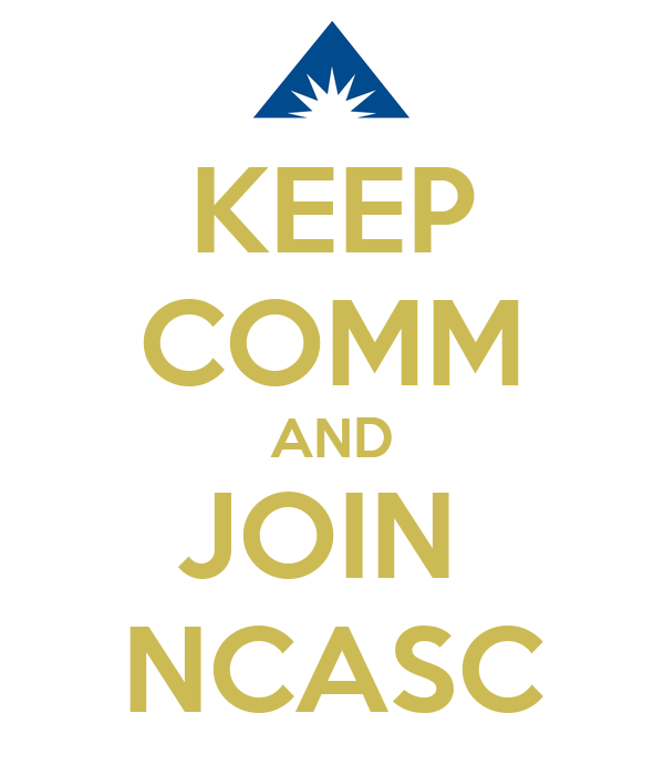 KEEP COMM AND JOIN  NCASC