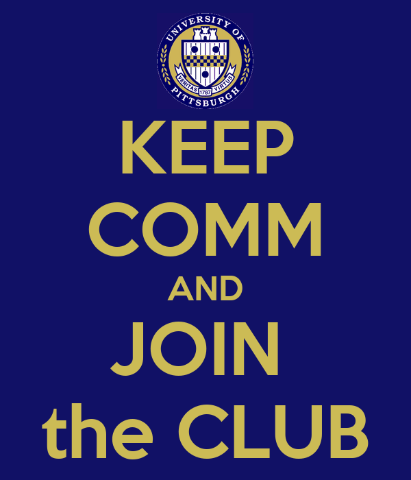 KEEP COMM AND JOIN  the CLUB