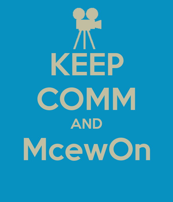 KEEP COMM AND McewOn
