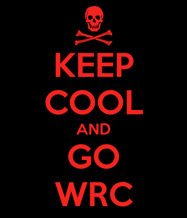 KEEP COOL AND GO WRC