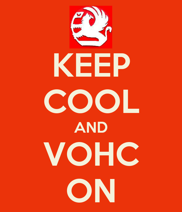KEEP COOL AND VOHC ON
