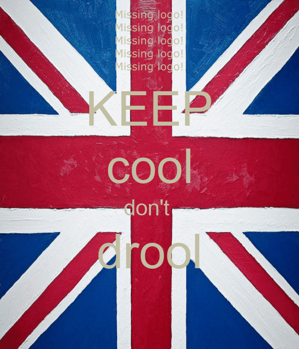 KEEP cool don't  drool