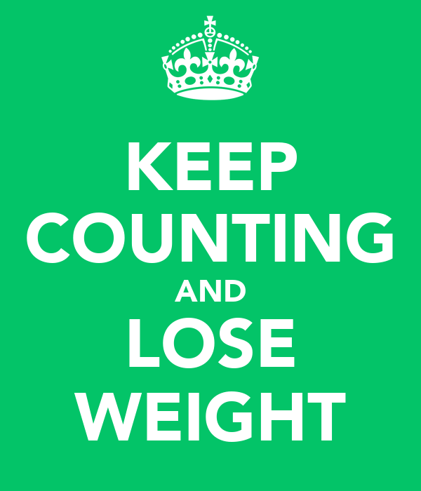 KEEP COUNTING AND LOSE WEIGHT
