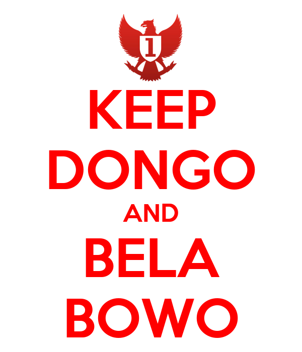 KEEP DONGO AND BELA BOWO