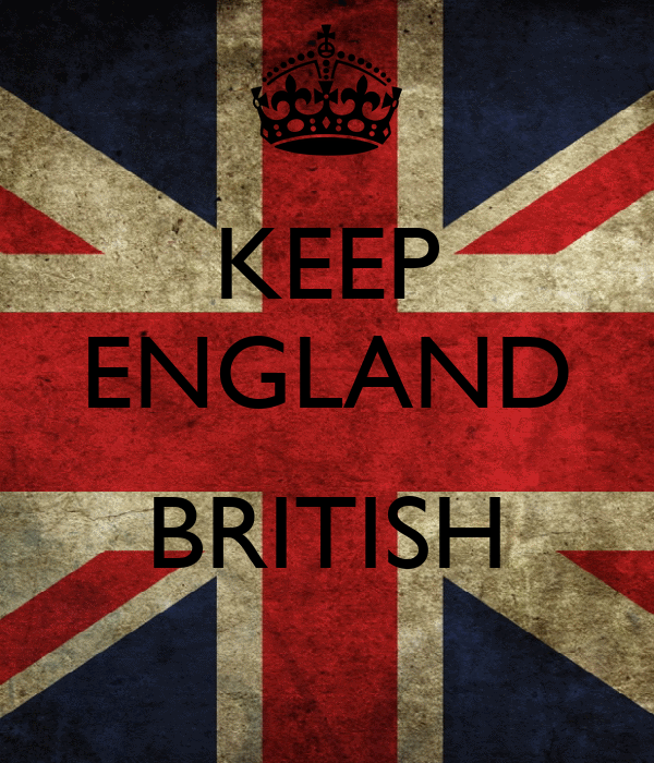 KEEP ENGLAND  BRITISH