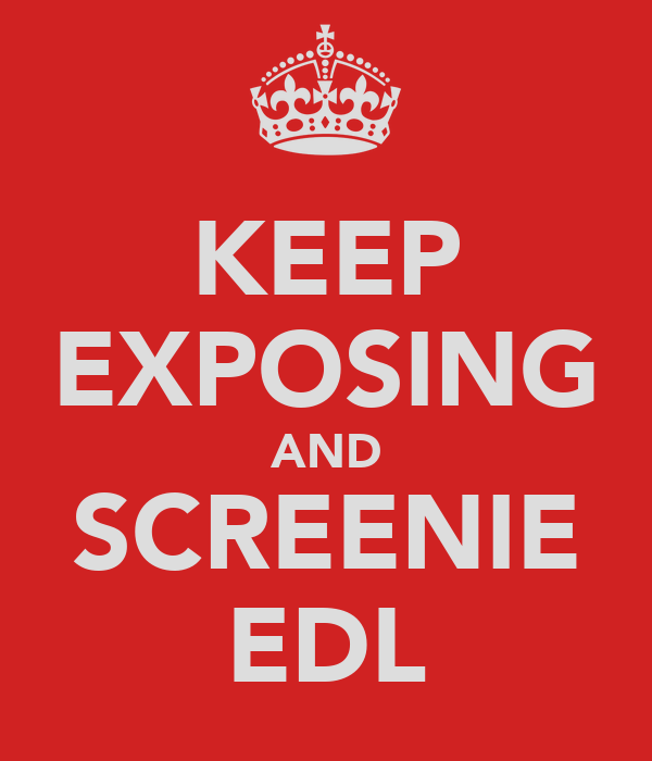 KEEP EXPOSING AND SCREENIE EDL