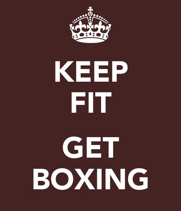 KEEP FIT  GET BOXING
