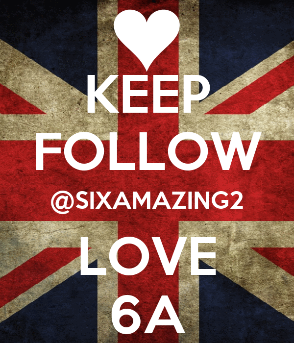 KEEP FOLLOW @SIXAMAZING2 LOVE 6A