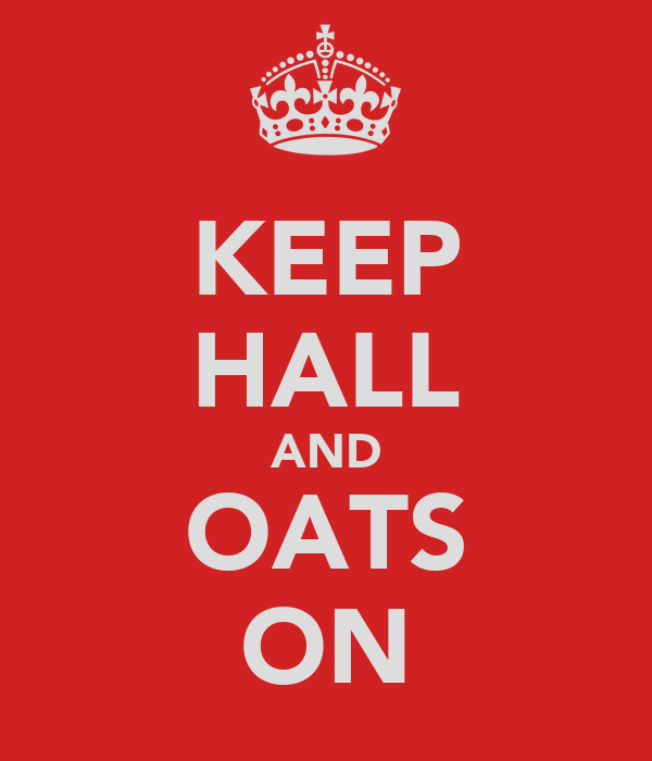 KEEP HALL AND OATS ON