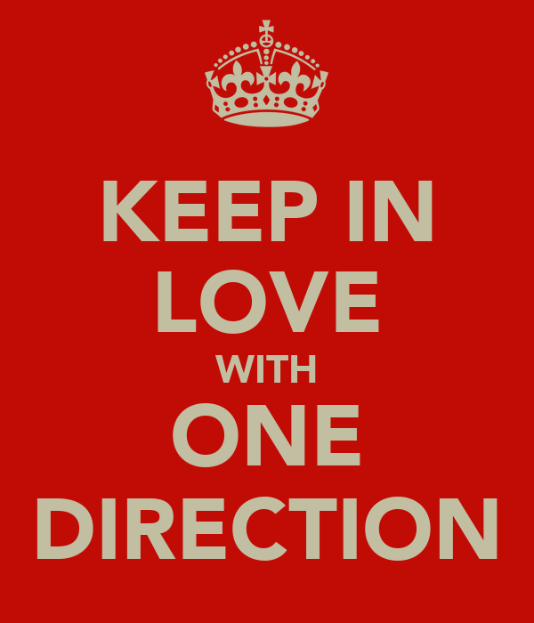 KEEP IN LOVE WITH ONE DIRECTION