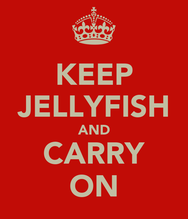 KEEP JELLYFISH AND CARRY ON
