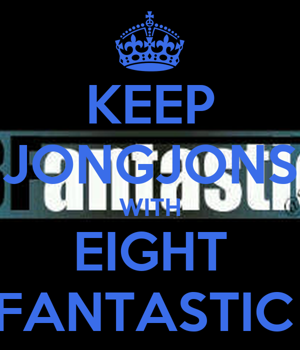 KEEP JONGJONS WITH EIGHT FANTASTIC