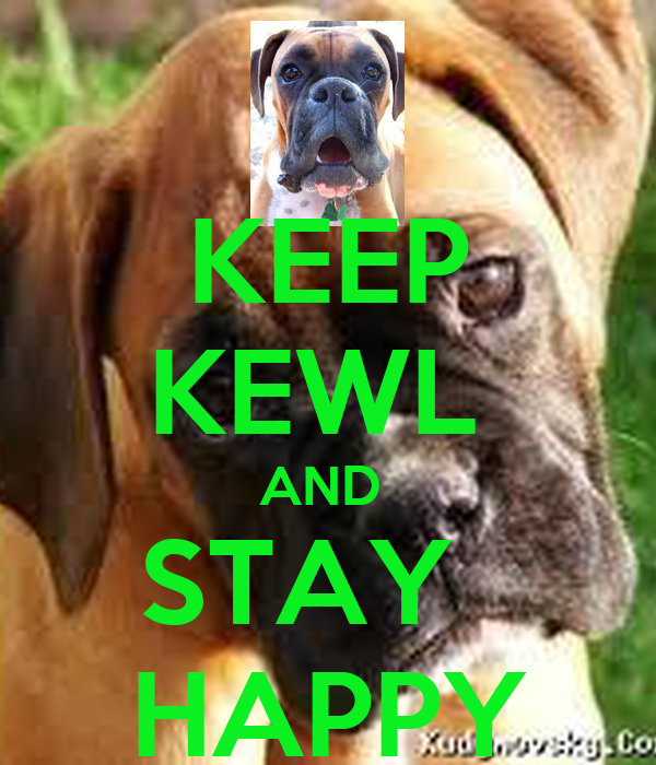 KEEP KEWL  AND  STAY    HAPPY
