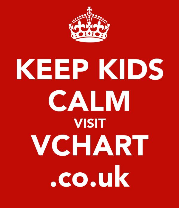 KEEP KIDS CALM VISIT VCHART .co.uk
