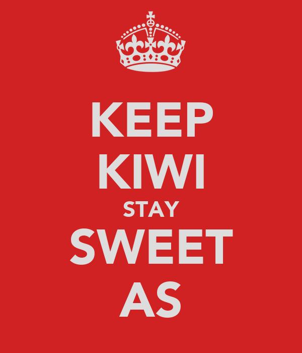 KEEP KIWI STAY SWEET AS