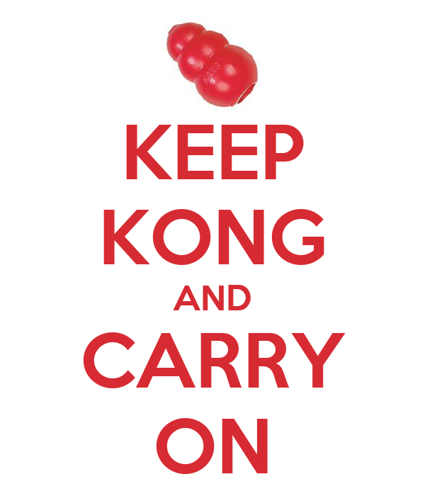 KEEP KONG AND CARRY ON
