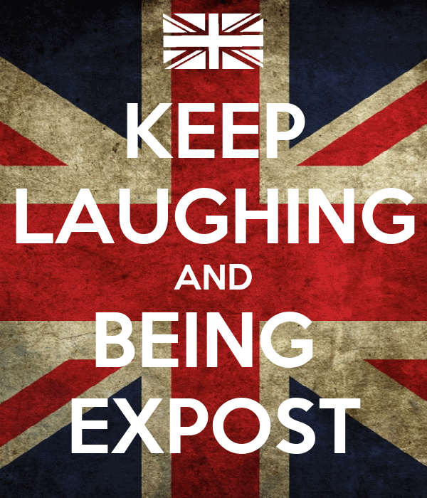 KEEP LAUGHING AND BEING  EXPOST