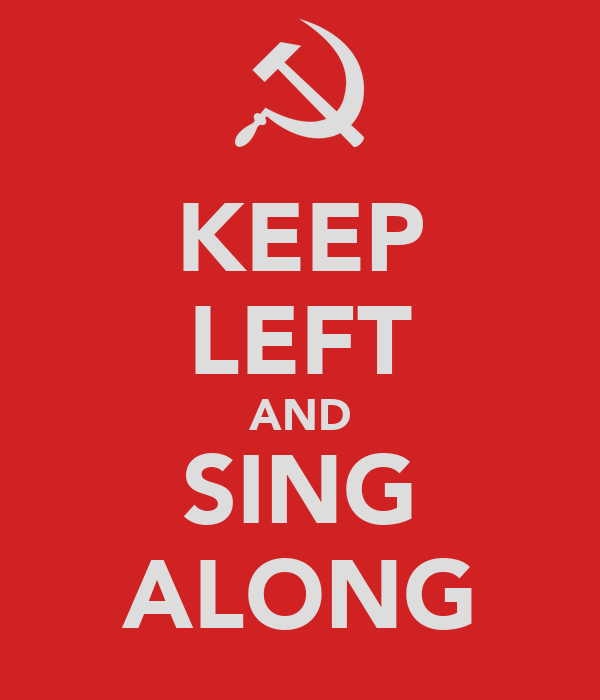 KEEP LEFT AND SING ALONG