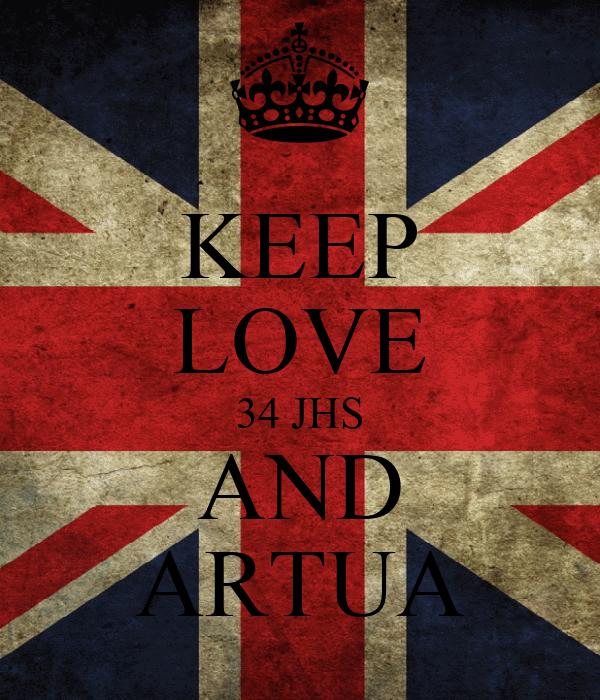 KEEP LOVE 34 JHS AND ARTUA
