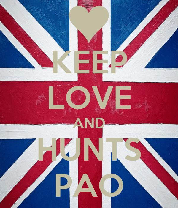 KEEP LOVE AND HUNTS PAO