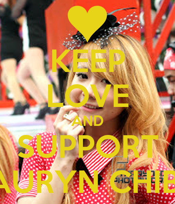 KEEP LOVE AND SUPPORT AURYN CHIBI