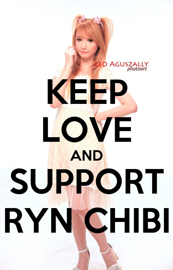 KEEP LOVE AND SUPPORT RYN CHIBI