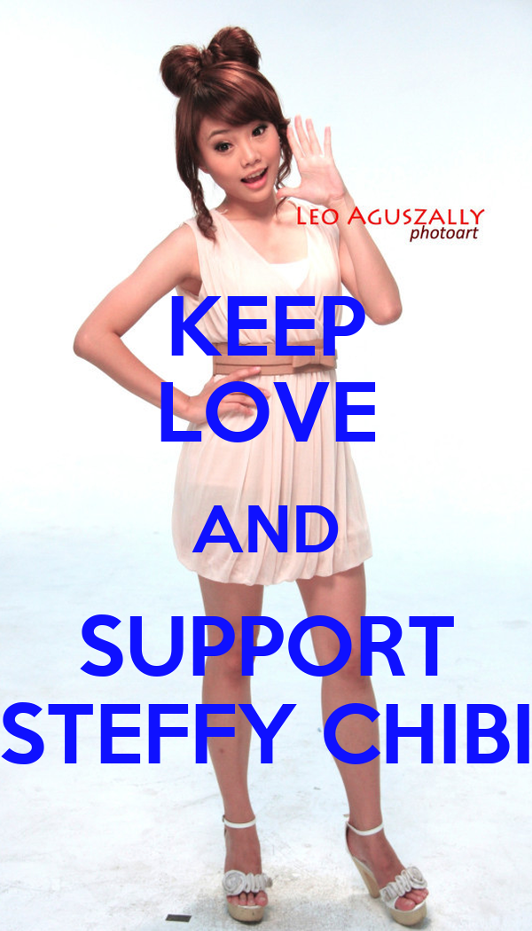 KEEP LOVE AND SUPPORT STEFFY CHIBI