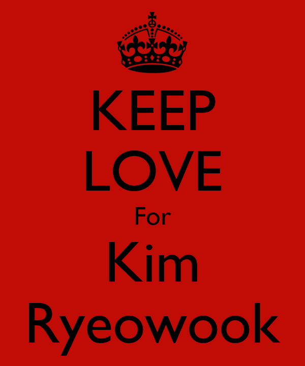 KEEP LOVE For Kim Ryeowook