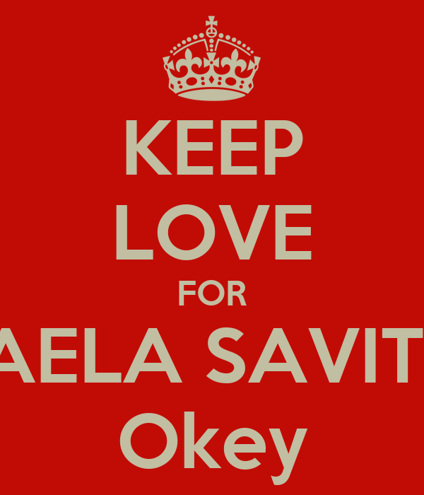 KEEP LOVE FOR LAELA SAVITRI Okey