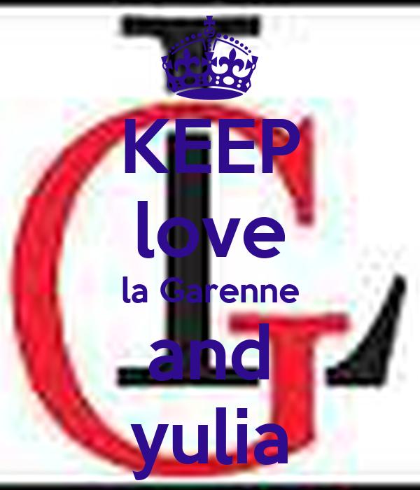 KEEP love la Garenne and yulia