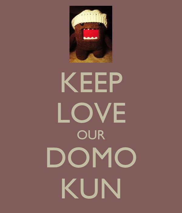 KEEP LOVE OUR DOMO KUN