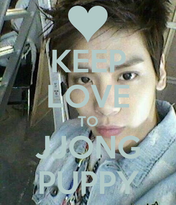 KEEP LOVE TO JJONG PUPPY