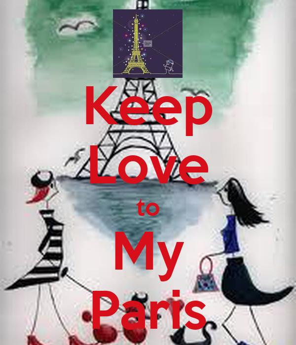 Keep Love to My Paris
