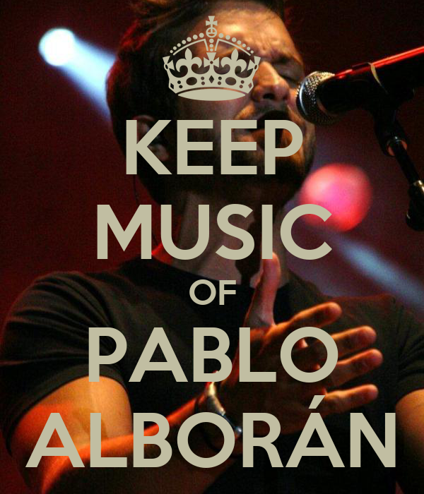 KEEP MUSIC OF PABLO ALBORÁN