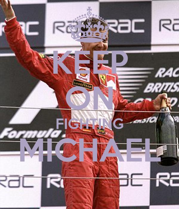 KEEP ON FIGHTING MICHAEL