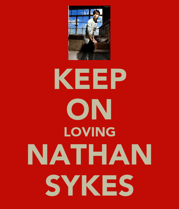 KEEP ON LOVING NATHAN SYKES