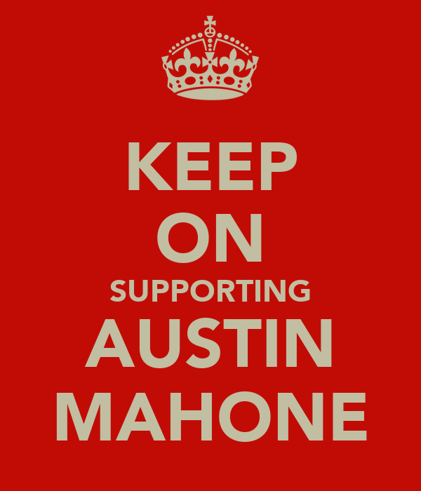 KEEP ON SUPPORTING AUSTIN MAHONE