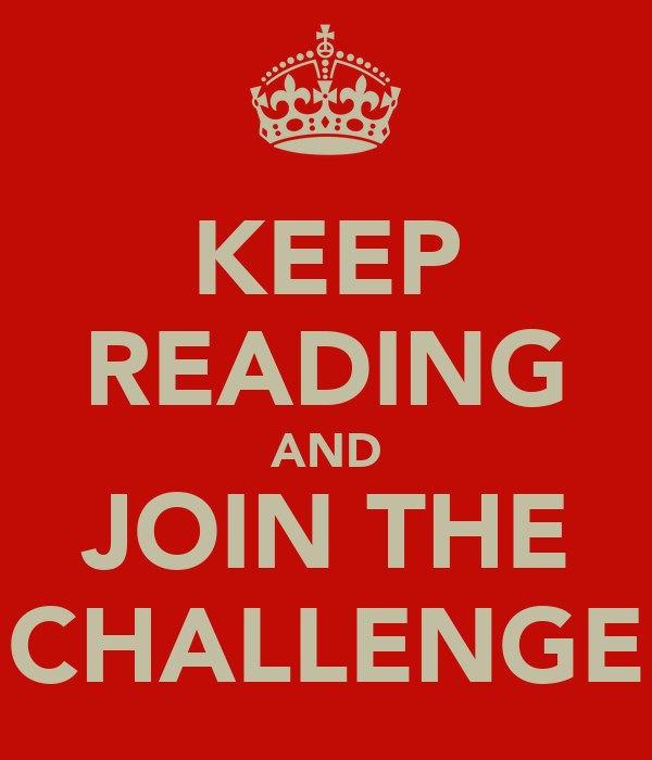 KEEP READING AND JOIN THE CHALLENGE