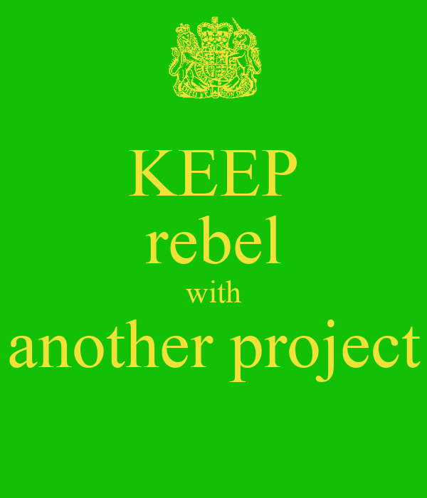 KEEP rebel with another project