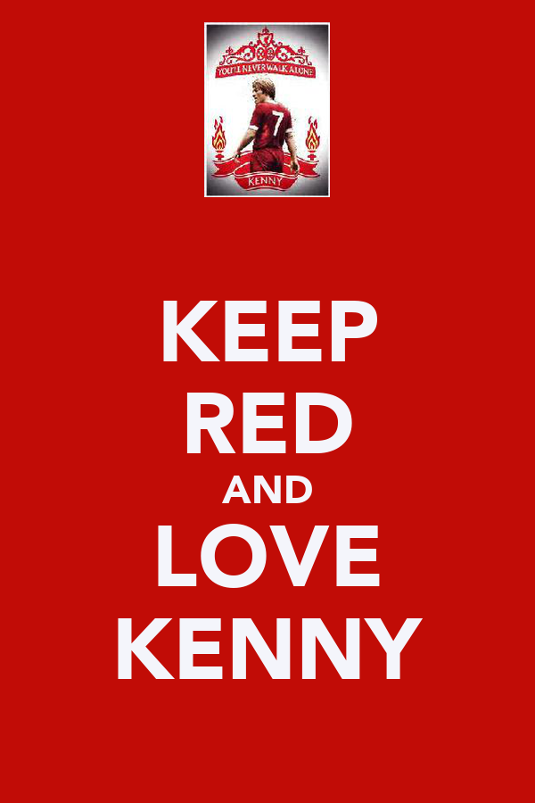 KEEP RED AND LOVE KENNY