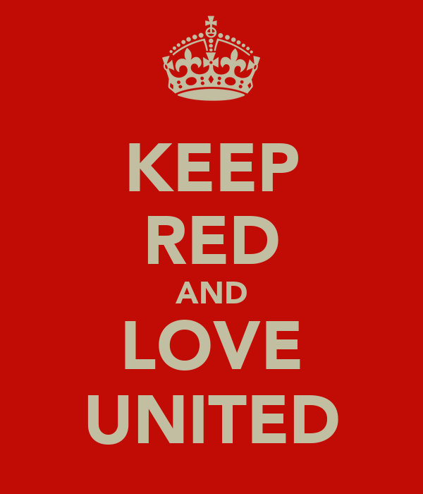 KEEP RED AND LOVE UNITED
