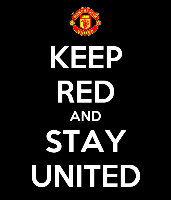 KEEP RED AND STAY UNITED