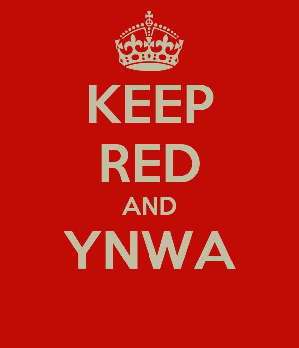 KEEP RED AND YNWA